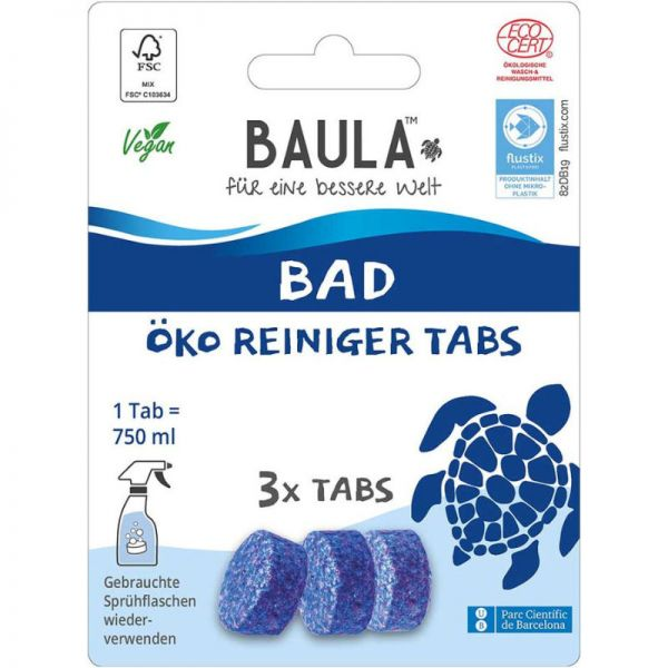 Bad Öko Reiniger Tabs, 3 Tabs - BioBaula