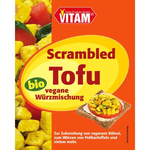 Scrambled Tofu vegane Würzmischung Bio, 17g - Vitam