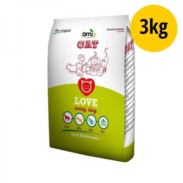 Love Every Day Katzen Trockenfutter, 3kg - Ami