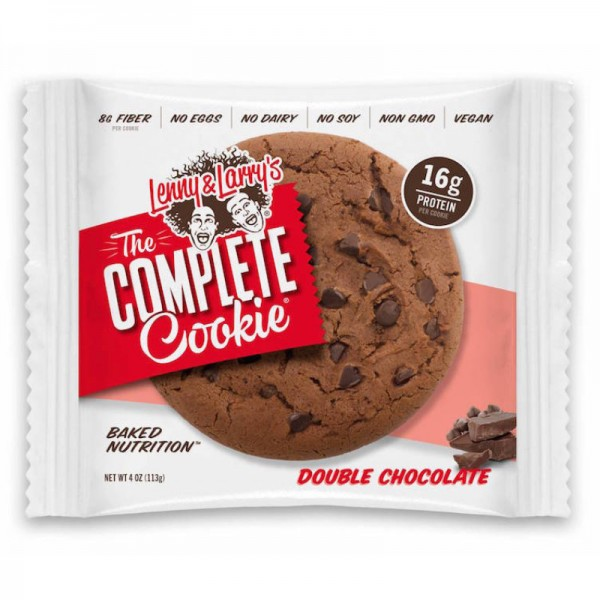 The Complete Cookie Double Chocolate 16g Protein, 113g - Lenny & Larry's