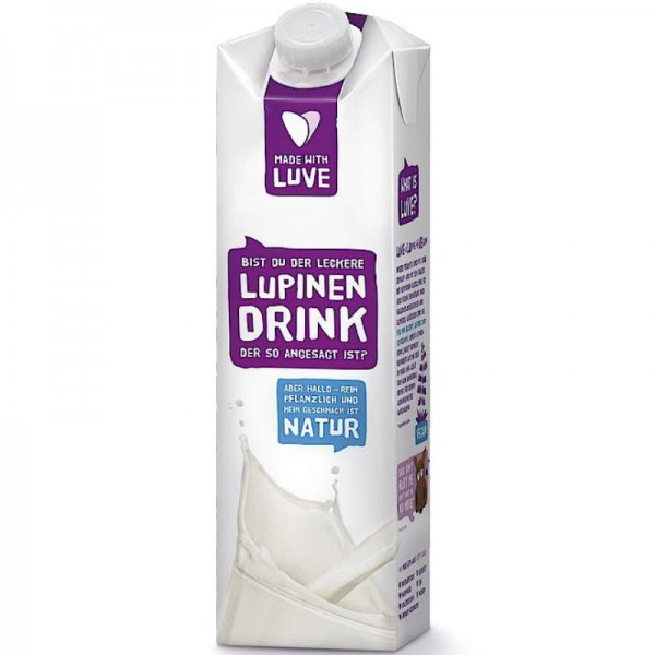 Lupinen Drink Natur, 1L - Made with Luve