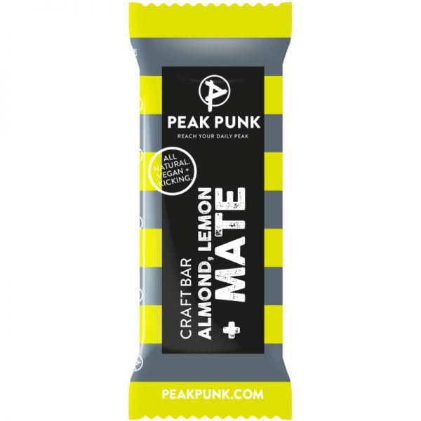 Craftbar Almond, Lemon + Mate Bio, 38g - Peak Punk