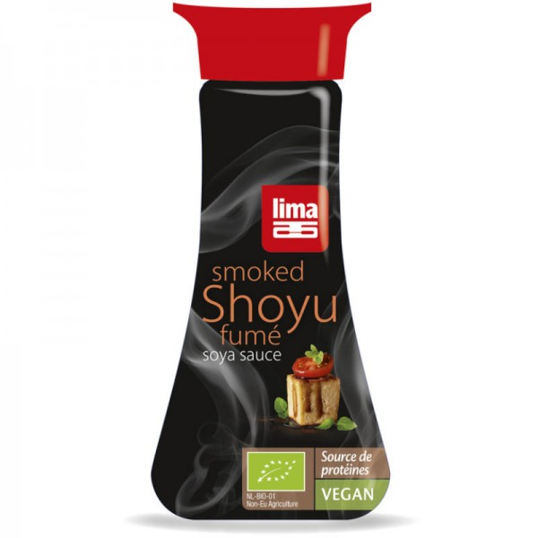 Shoyu Smoked Bio, 145ml - Lima