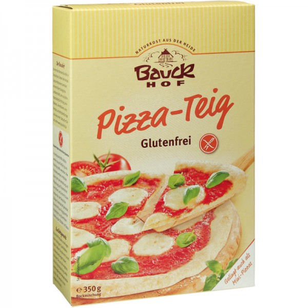 Pizza-Teig Glutenfrei Bio, 350g - Bauckhof