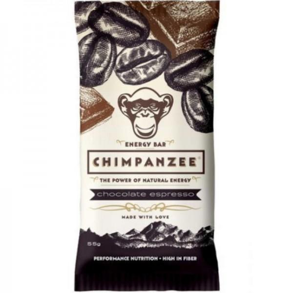 Energy Bar Chocolate Espresso, 55g - Chimpanzee