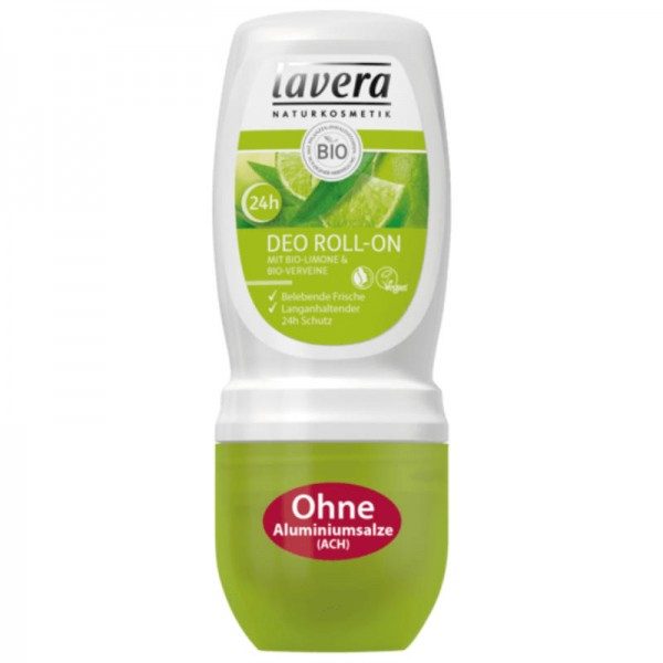24h Deo Roll-on Bio-Limone & Bio-Verveine, 50ml - Lavera