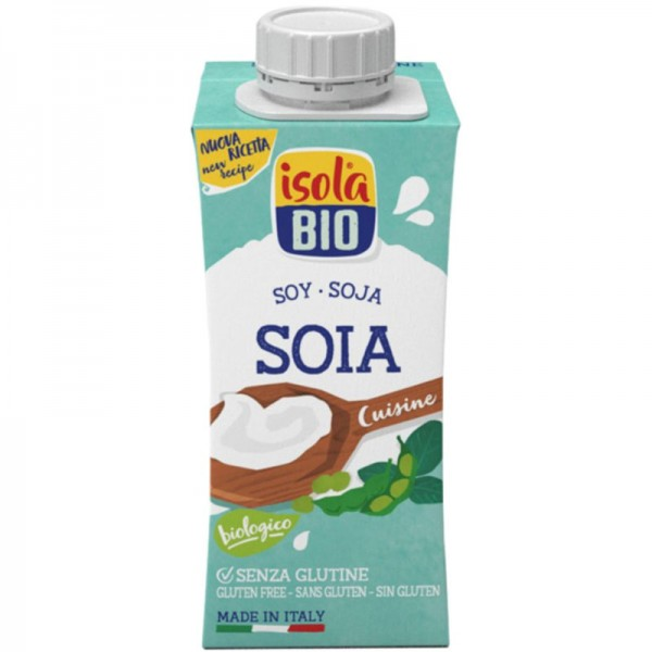 Soya Cuisine Creme Bio, 200ml - Isola
