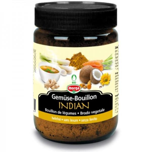 Gemüse Bouillon Indian hefefrei Bio, 200g - Morga