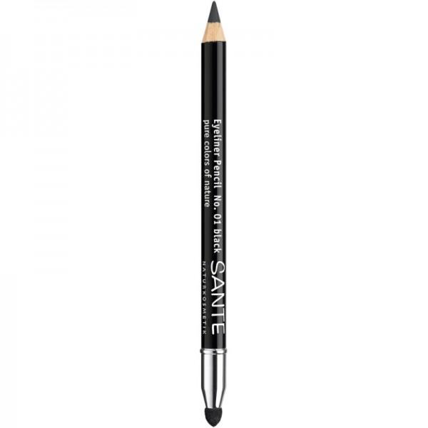 Eyeliner Pencil No. 01 Black, 1.3g - Sante