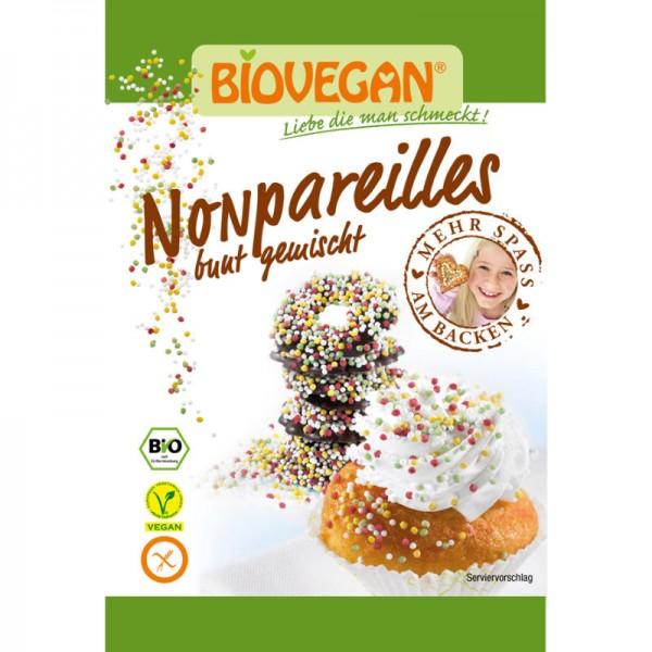 Nonpareilles bunt gemischt Bio, 35g - Biovegan