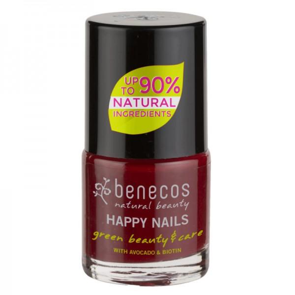 Nail Polish cherry red, 5ml - Benecos