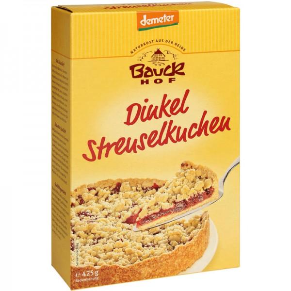 Dinkel Streuselkuchen Backmischung Bio, 425g - Bauckhof