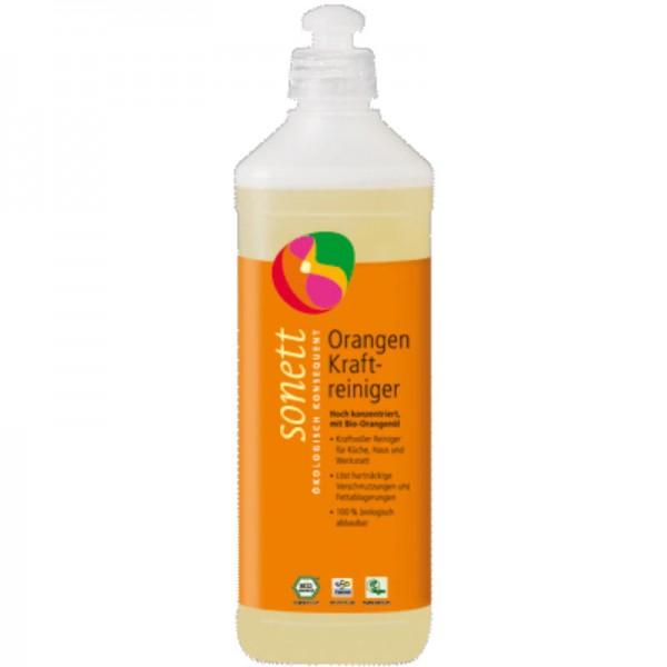 Orangen Kraftreinger, 500ml - Sonett