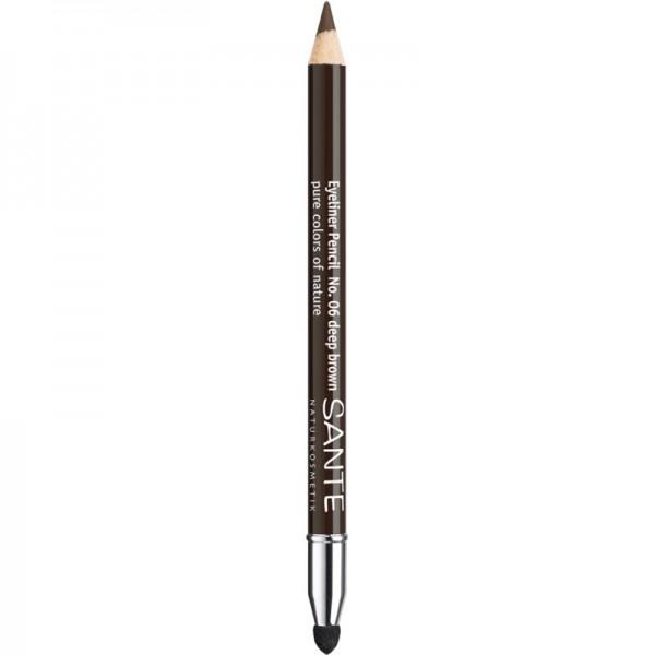 Eyeliner Pencil No. 06 Deep Brown, 1.3g - Sante