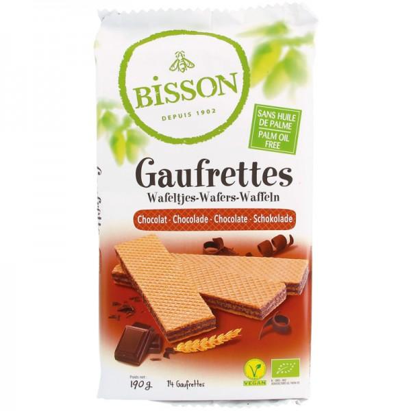 Gaufrettes Chocolat Bio, 190g - Bisson