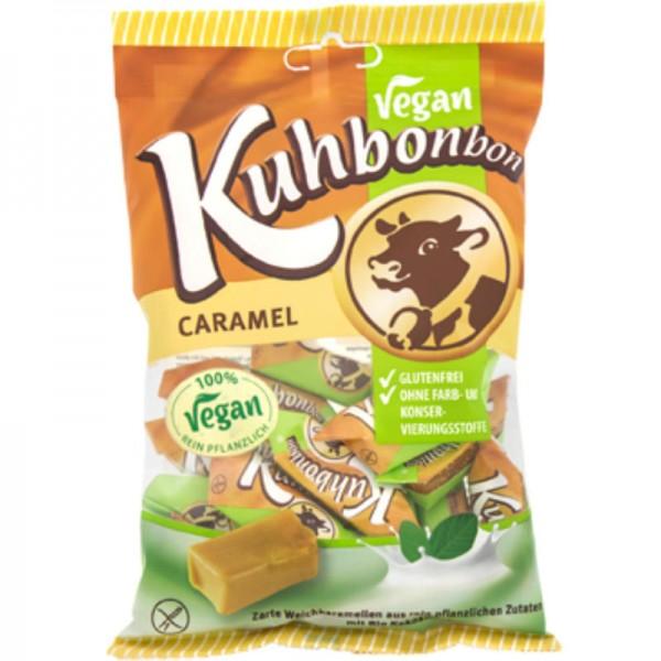 Bonbon Vegan Caramel Classic, 165g - Kuhbonbon