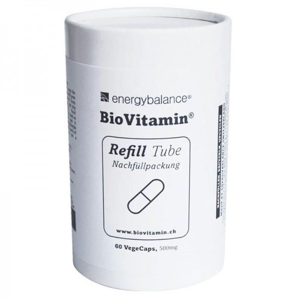 Bio Vitamin Multivitaminpräparat 500mg Nachfüllpackung, 60 VegeCaps - Energybalance