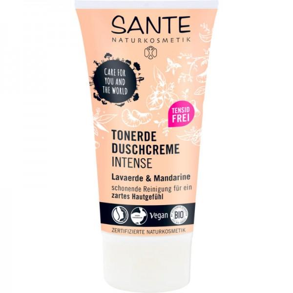 Tonerde Duschcreme intense Lavaerde & Mandarine, 150ml - Sante