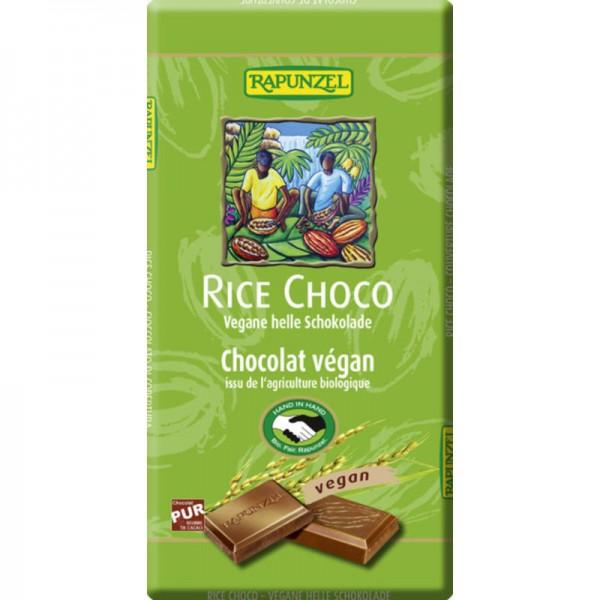 Rice Choco helle Schokolade Bio, 100g - Rapunzel