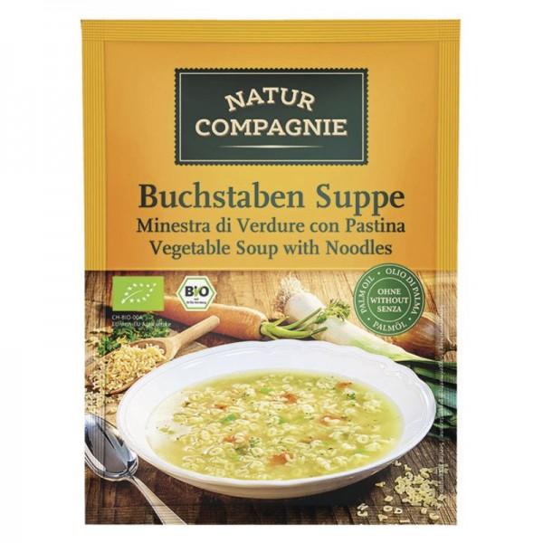 ABC Buchstaben Suppe Bio, 50g - Natur Compagnie