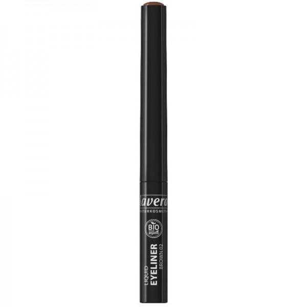 Liquid Eyeliner Brown 02, 2.8ml - Lavera