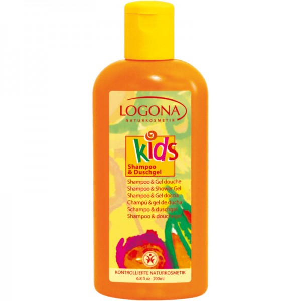 Kids Shampoo & Duschgel, 200ml - Logona