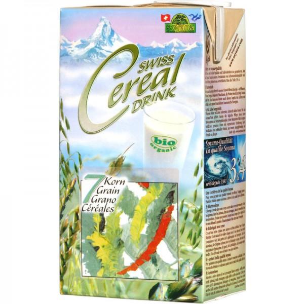 7 Korn Swiss Cereal-Drink Bio, 1L - Soyana