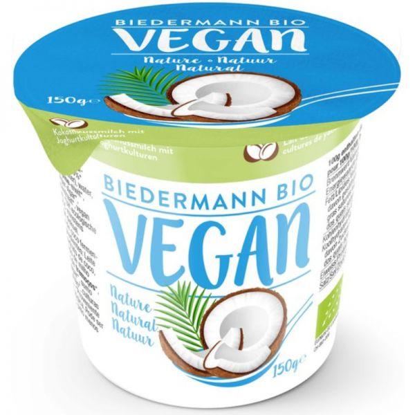 Kokosjoghurt natur Bio, 150g - Biedermann