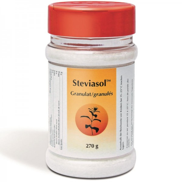 Stevia Granulat Streuer, 270g - Steviasol