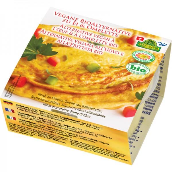Vegane Alternative zu Ei & Omelette Bio, 200g - Soyana
