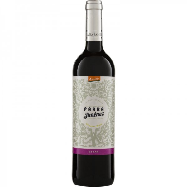 Syrah Parra DO Demeter, 2018