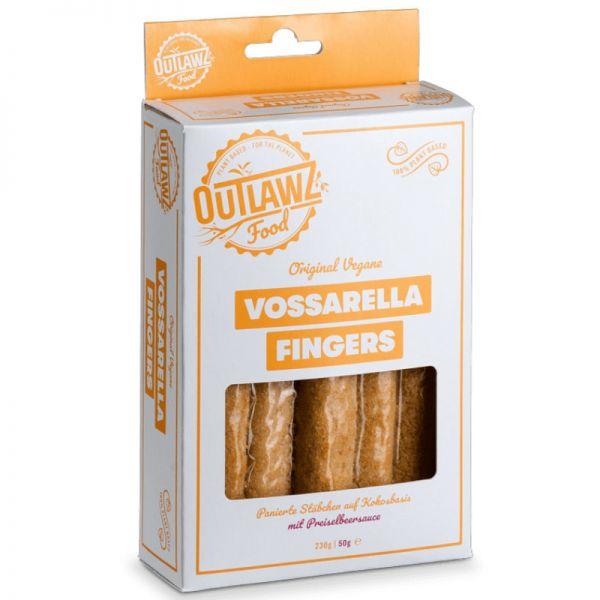 Vossarella Fingers mit Preiselbeersauce, 280g - Outlawz Food