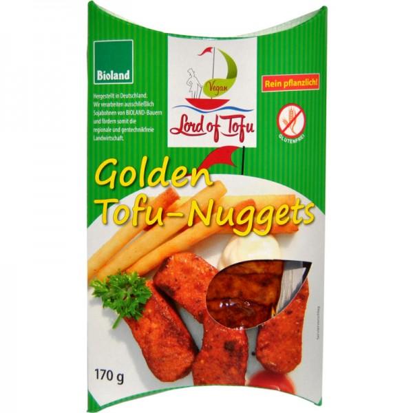 Golden Tofu-Nuggets Bio, 170g - Lord of Tofu