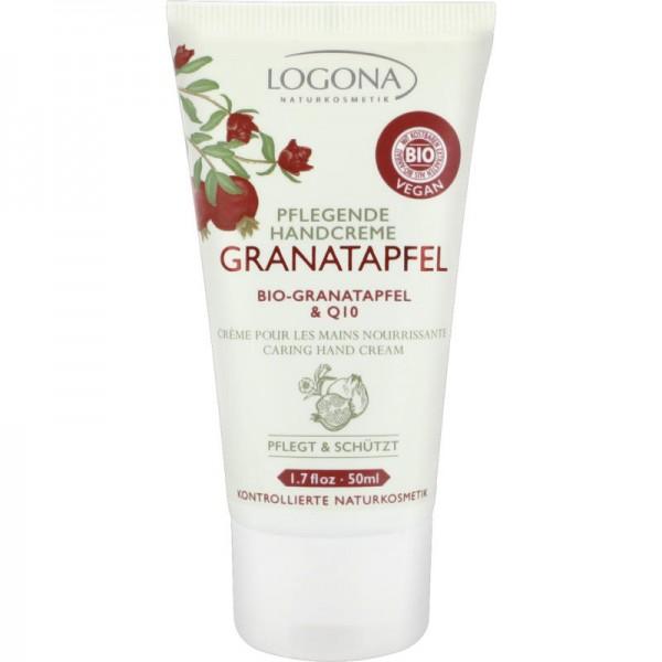 Pflegende Handcreme mit Bio-Granatapfel & Q10, 50ml - Logona