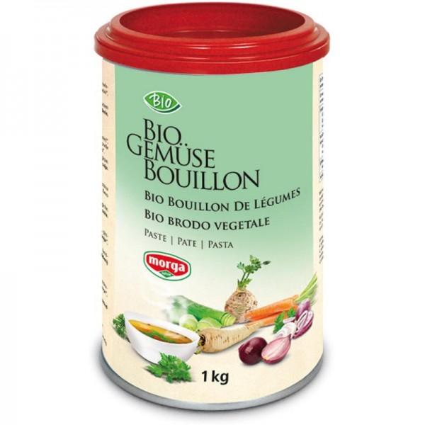 Gemüse Bouillon Paste Bio, 1kg - Morga