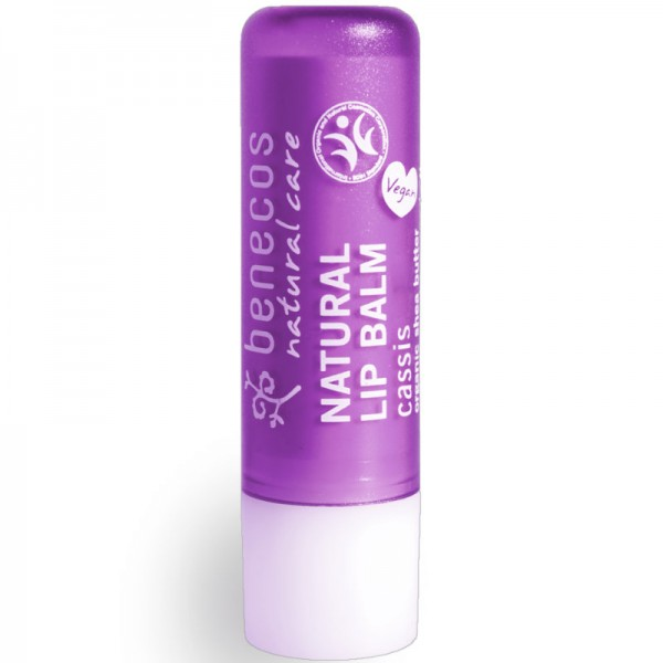 Natural Lip Balm cassis, 4.8g - Benecos