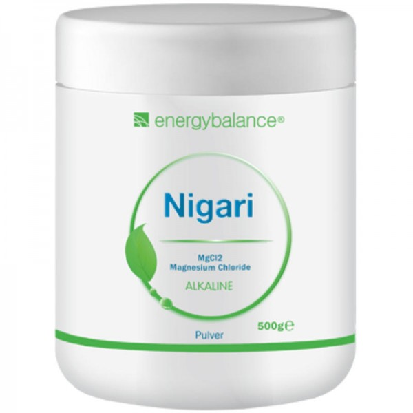 Nigari Magnesiumchlorid Pulver, 500g - Energybalance