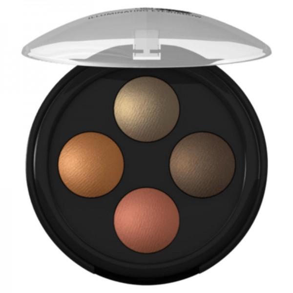Illuminating Eyeshadow Quattro Indian Dream 03, 3.2g - Lavera