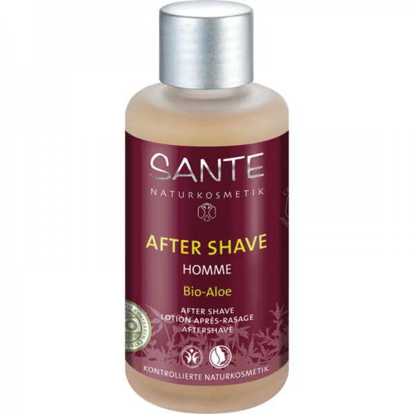 Homme After Shave Bio-Aloe, 100ml - Sante