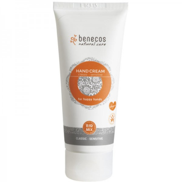 Hand Cream Classic-Sensitive, 75ml - Benecos