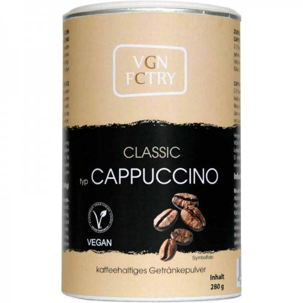 Instant Cappuccino Classic, 280g - VGN FCTRY