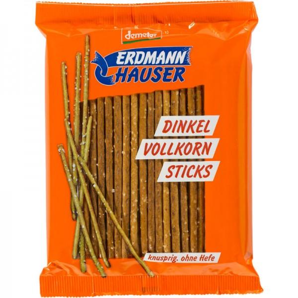 Dinkel Vollkorn Sticks Bio, 100g - ErdmannHAUSER