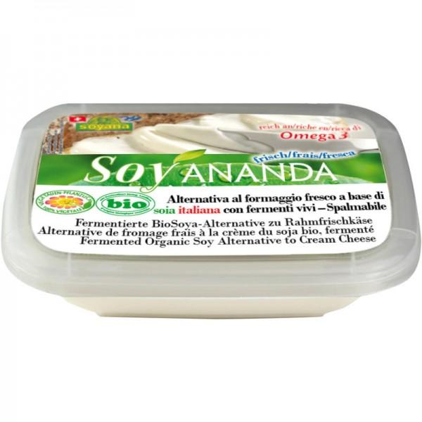 Vegane Rahmfrischkäse-Alternative Soyananda Bio, 140g - Soyana