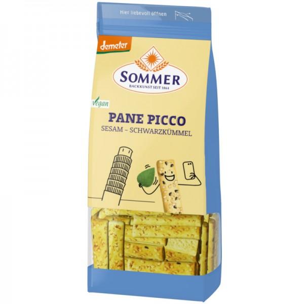 Sesam-Schwarzkümmel Pane Picco Bio, 150g - Sommer