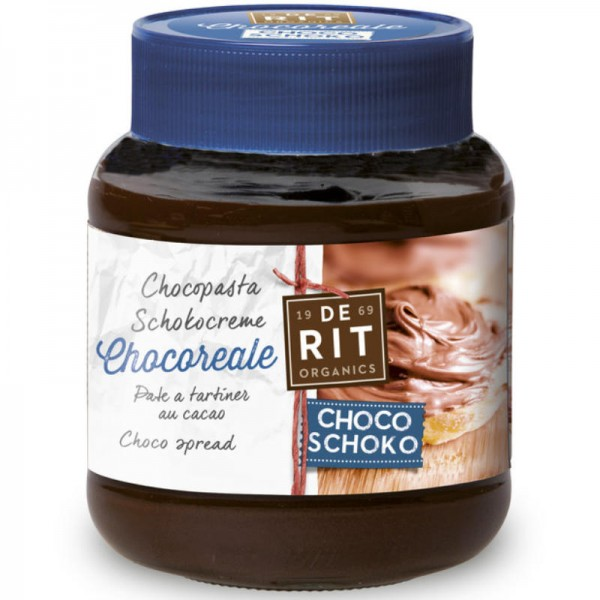 Chocoreale Natural Schokocreme Bio, 350g - De Rit
