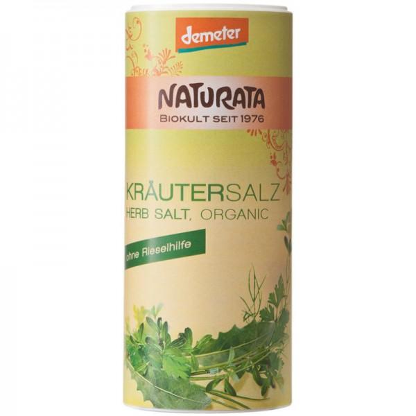 Kräuter Salz Streudose Bio, 175g - Naturata