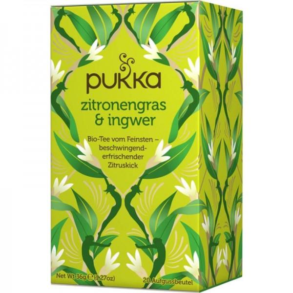 Zitronengras & Ingwer Tee Bio, 36g - Pukka
