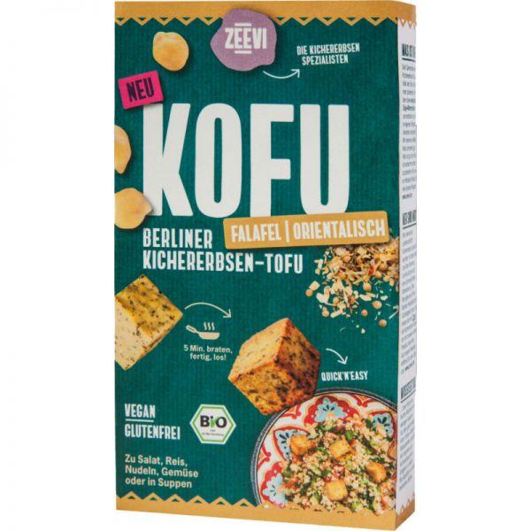 Kofu Kichererbsen-Tofu Falafel Bio, 200g - Zeevi