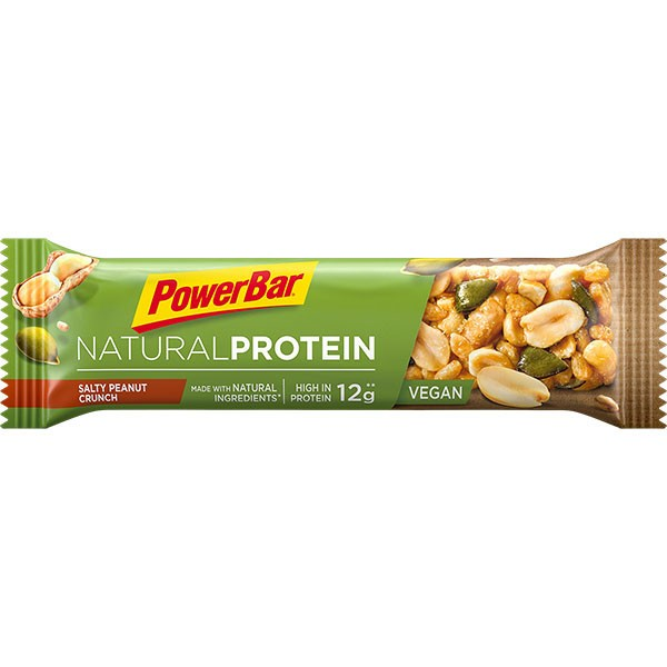 Natural Protein Riegel Salty Peanut Crunch, 40g - PowerBar