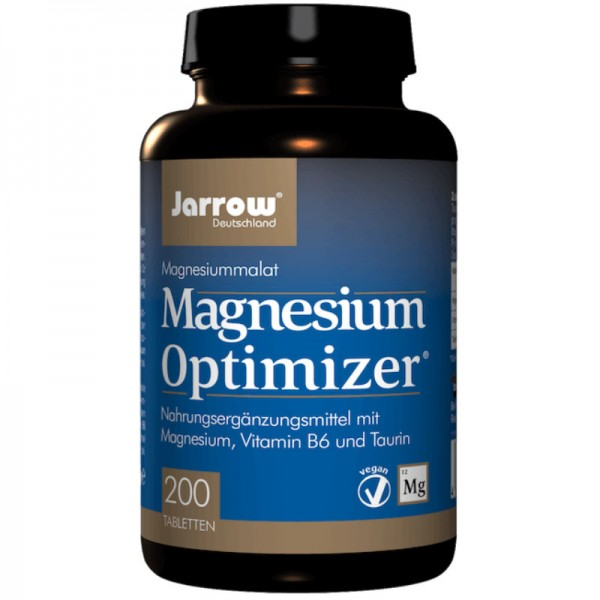 Magnesium Optimizer Tabletten, 200 Stück - Jarrow